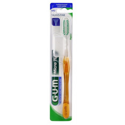 gum microtip brosse à dents medium normale 472
