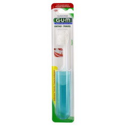 GUM ORTHO TRAVEL BROSSE À DENTS ORTHODONTIQUE SOUPLE N°125