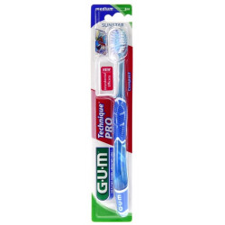 gum technique pro brosse à dents medium compacte 528