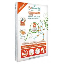 puressentiel articulations patchs chauffants aux 14 huiles essentielles