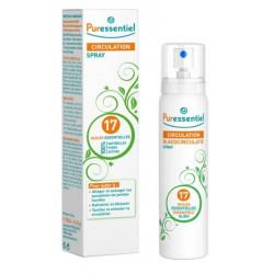 puressentiel spray circulation aux 17 huiles essentielles 100 ml
