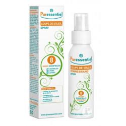 puressentiel spray coups de soleil aux 8 huiles essentielles 75 ml