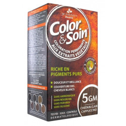 3 CHÊNES COLOR & SOIN COLORATION CHÂTAIN CLAIR CAPPUCCINO 5GM