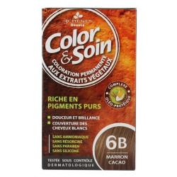 3 Chênes Color & Soin Coloration Marron Cacao 6B