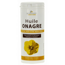 3 chênes huile onagre 150 capsules
