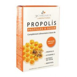 3 chênes propolis pastilles à sucer