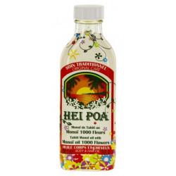 Hei Poa Monoï de Tahiti au Monoï 1000 Fleurs 100 ml