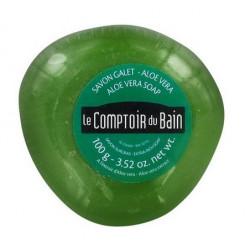 le comptoir du bain savon galet surgras aloe vera 100 g