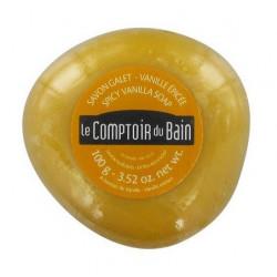 le comptoir du bain savon galet surgras vanille épicée 100 g