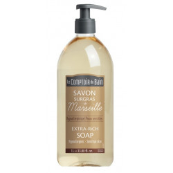le comptoir du bain savon surgras de marseille hypoallergénique 1l