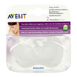 avent 2 protège-mamelons tendresse petite taille