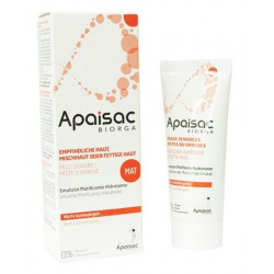 apaisac emulsion matifiante hydratante 40 ml