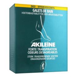 akileïne galets de bain déo-effervescents