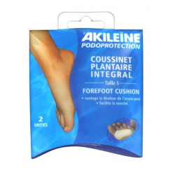 akileïne podoprotection coussinet plantaire integral taille s