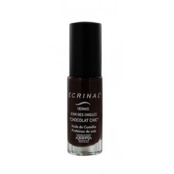 ecrinal vernis soin des ongles chocolat chic 6 ml