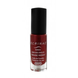 ecrinal vernis soin des ongles rouge indien 6 ml