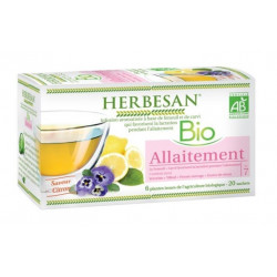 herbesan infusion bio allaitement 20 sachets