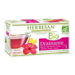 herbesan infusion bio drainante 20 sachets