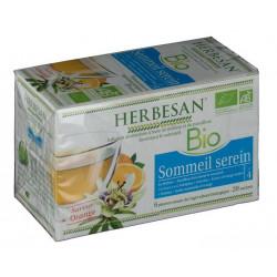 herbesan infusion bio sommeil serein 20 sachets