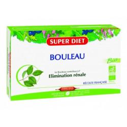 super diet bouleau bio 20 ampoules