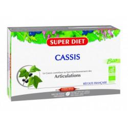 super diet cassis bio 20 ampoules