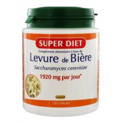 SUPER DIET LEVURE DE BIÈRE 150 GÉLULES
