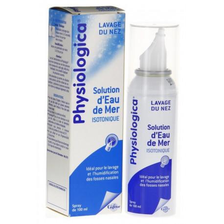 gifrer physiologica solution d'eau de mer isotonique 100 ml
