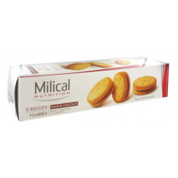 MILICAL 12 BISCUITS FOURRÉS CHOCOLAT