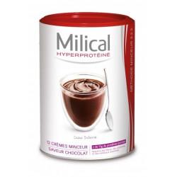 milical hyperproteiné 12 crèmes minceur chocolat
