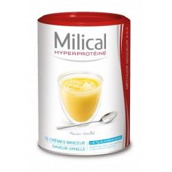 milical hyperproteiné 12 crèmes minceur vanille