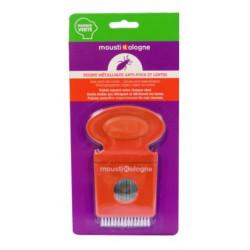 moustikologne peigne metallique anti-poux et lentes