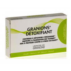 granions détoxifiant 30 gélules