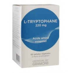 GRANIONS L-TRYPTOPHANE 220 MG 60 GÉLULES