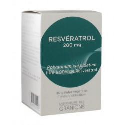 granions resvératrol 200 mg 30 gélules