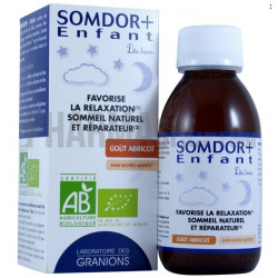 granions somdor+ enfant relaxation sommeil 125 ml