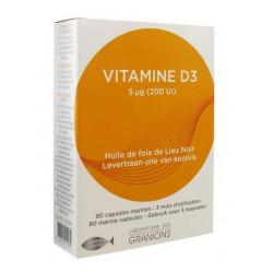 granions vitamine d3 90 capsules