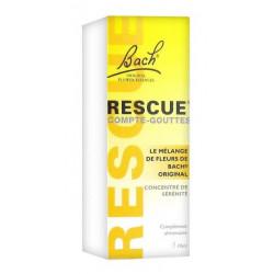 bach rescue compte-gouttes 10 ml