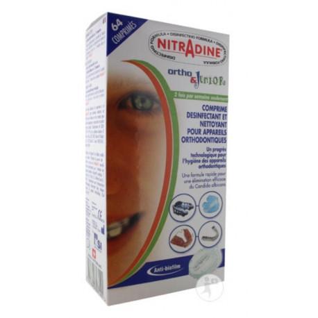 nitradine ortho & junior 64 comprimés