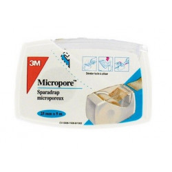 3m micropore sparadrap chair 25 mm x 5 m