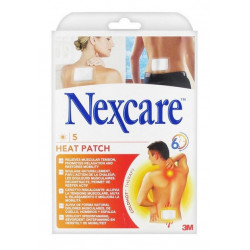 3m nexcare 5 heat patch chauffant