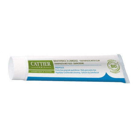 cattier dentargile dentifrice propolis 75 ml