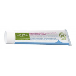 cattier eridène dentifrice blanchissant haleine fraîche 75 ml
