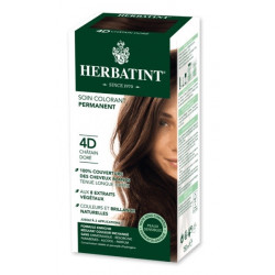 Herbatint Soin Colorant Permanent 4D Châtain Doré