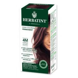 Herbatint Soin Colorant Permanent 4M Châtain Acajou