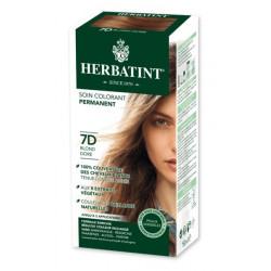 Herbatint Soin Colorant Permanent 7D Blond Doré