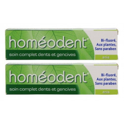 boiron homéodent soin complet dents et gencives anis 2 x 75 ml