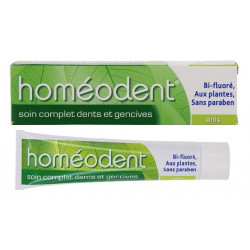 boiron homéodent soin complet dents et gencives anis 75 ml