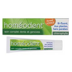 boiron homéodent soin complet dents et gencives chlorophylle 25 ml