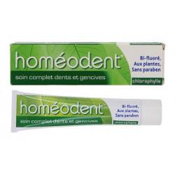 boiron homéodent soin complet dents et gencives chlorophylle 75 ml