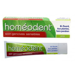 boiron homéodent soin gencives sensibles anis 75 ml